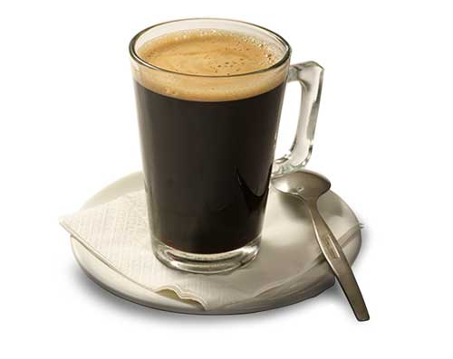 Long Black Coffee - Hot